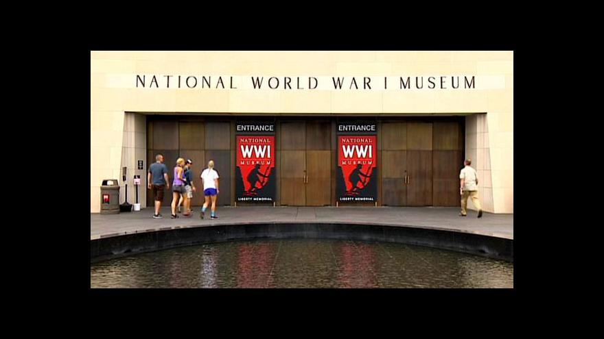 Video Kansaské muzeum má vzbudit zájem o první světovou