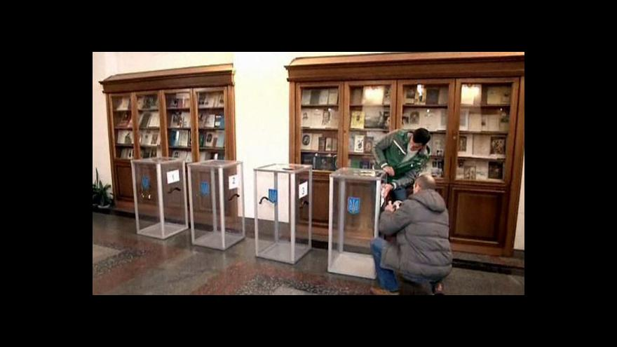 Video V neděli Ukrajinci zvolí nový parlament