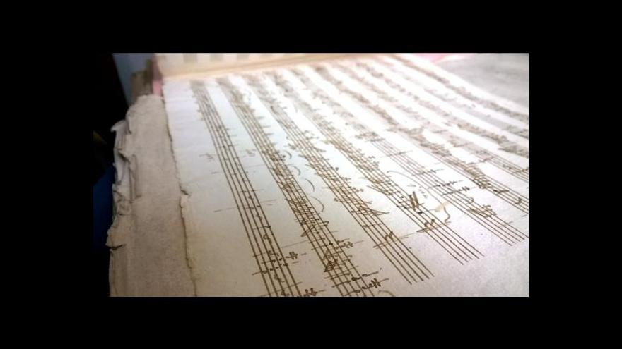 Video Záhadný objev Mozartova rukopisu