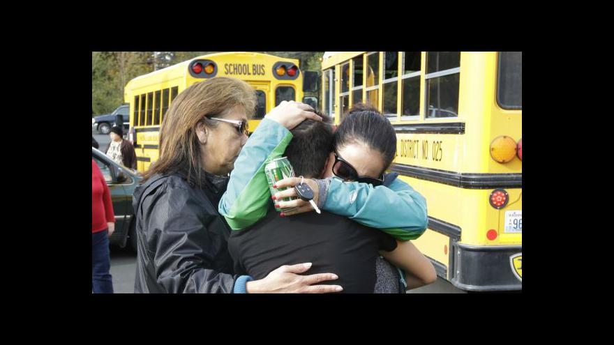 Video Zpravodaj ČT o střelbě na škole v Marysvillu