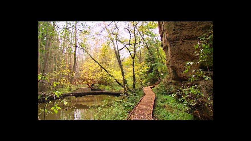 Video Údolí Peklo má nové cesty, bojuje ale s plísní