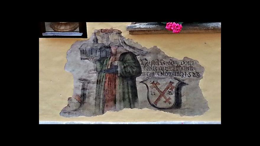 Video Restaurátoři odkryli vzácnou fresku.