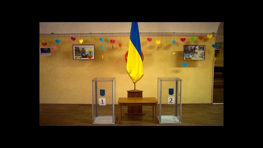 Video Porošenko vyzval k účasti ve volbách