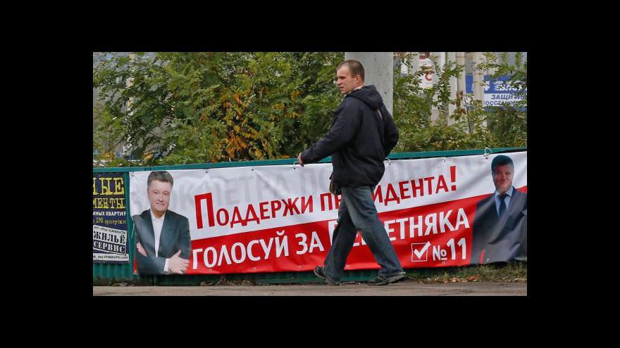 Video Jan Šír k nedělním ukrajinským volbám