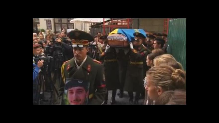 Video Z YouTube: Pohřeb Viktora Hurňaka