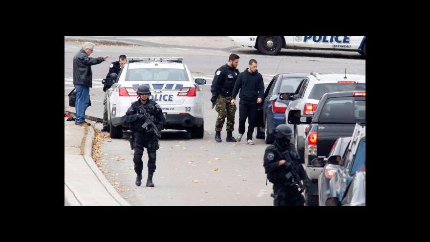 Video V Kanadě pokračuje vyšetřování středečního útoku
