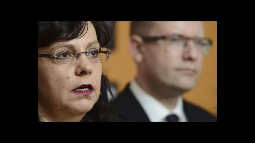 Video Marksová: Je potřeba posílit terénní práci, ne pražskou centrálu