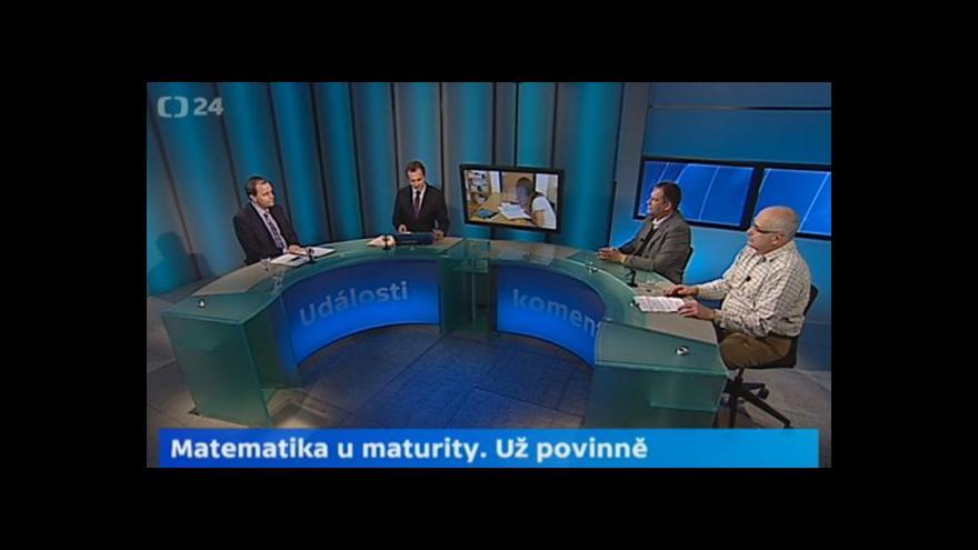 Video Oldřich Botlík, Jiří Kuhn a Marcel Chládek: Je třeba změnit výuku
