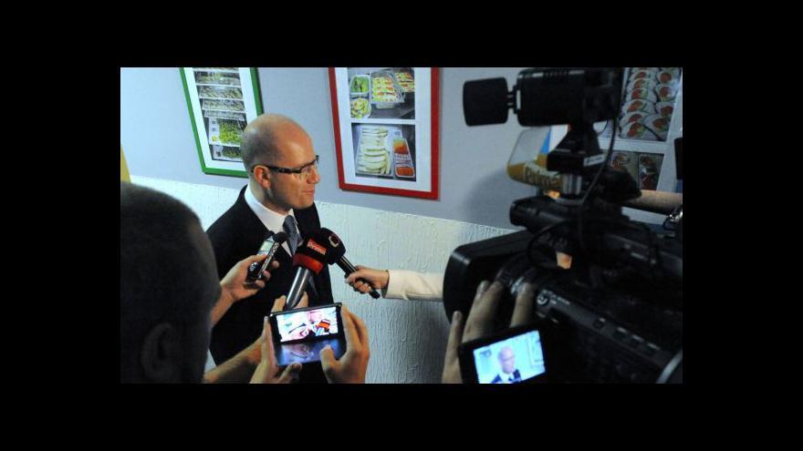 Video Sobotka: Změny podpoříme, pokud to neohrozí naší konkurenceschopnost
