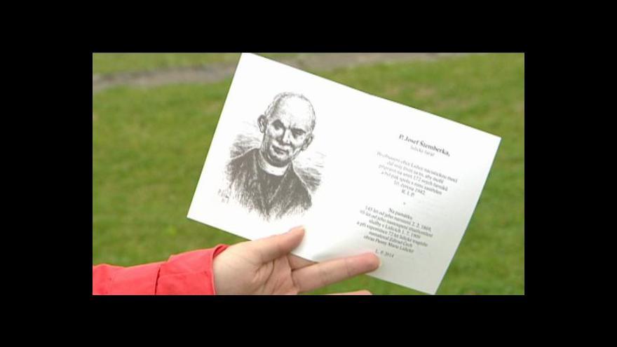 Video Státní vyznamenání dostane in memoriam lidický farář