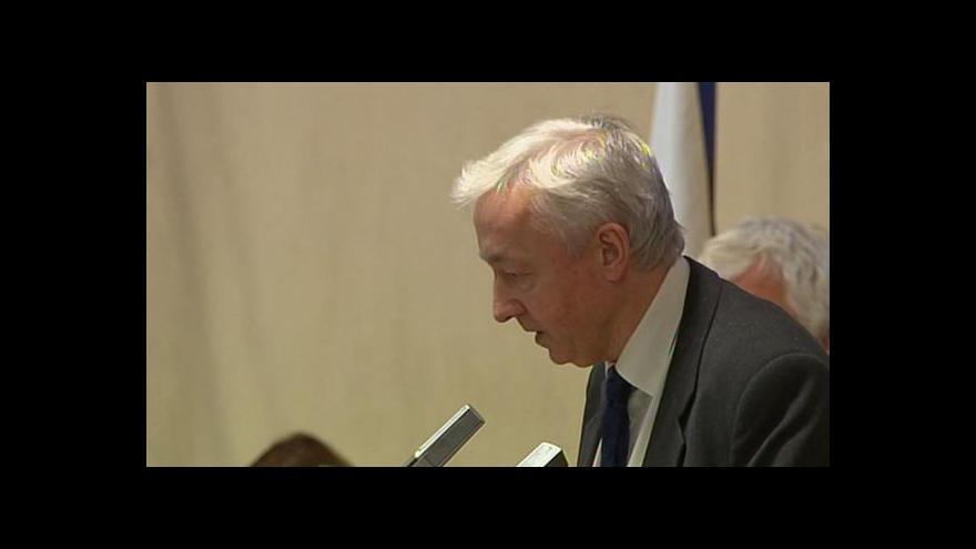 Video Miroslav Antl: Kdyby bylo podezření opodstatněné, nedostal by prověrku