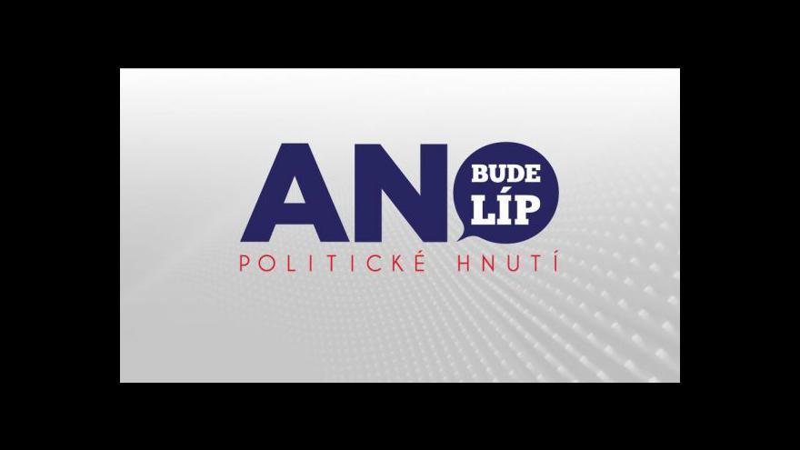 Video Politolog Just: Think-tank může pro ANO složit program