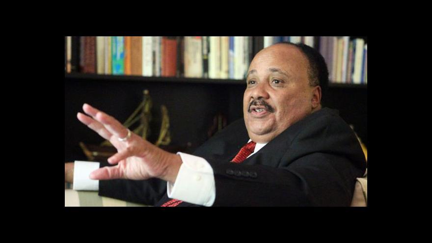 Video Rozhovor s Martinem Lutherem Kingem III.