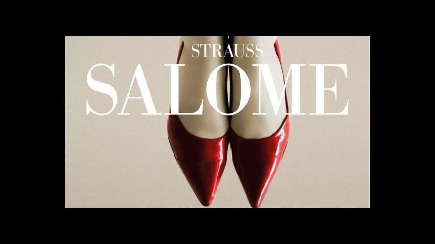 Video Národní divadlo uvádí operu Salome
