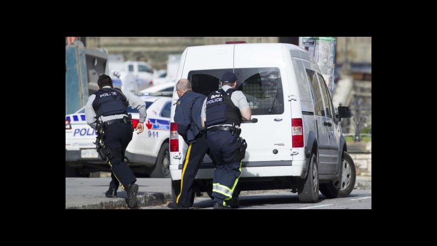 Video Události: Střelba v centru Ottawy