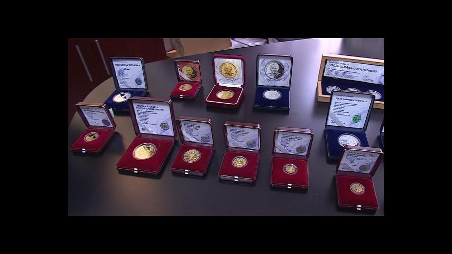 Video Česká národní banka vyrazí nové pamětní mince