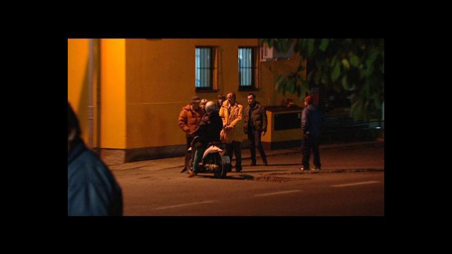 Video Z natáčení filmu Nikdy nejsme sami