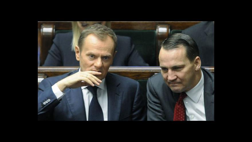 Video Sikorski rozpoutal pozdvižení na diplomatické scéně