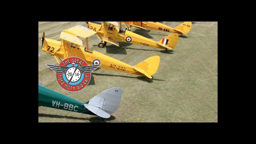 Video Great Tiger Moth vydělává na charitu