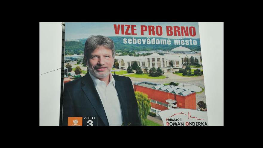 Video Komentátor Radko Kubičko o volebním výsledku ČSSD v Brně
