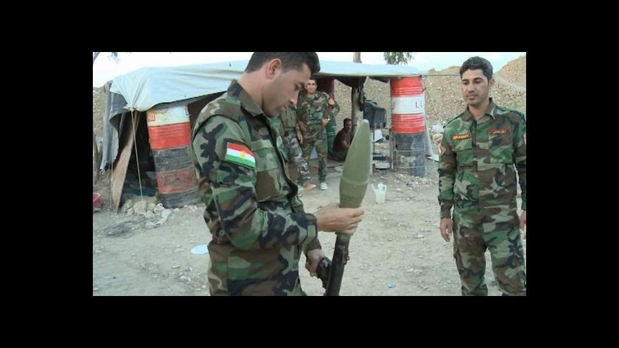 Video Kurdský aktivista: Kurdům chybějí těžké zbraně