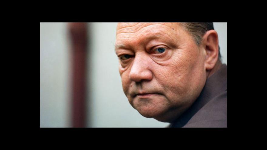 Video Rudolf Hrušínský jako komisař Maigret