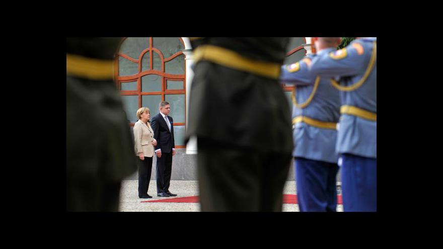Video Milan Žitný k návštěvě Angely Merkelové na Slovensku