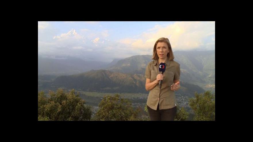 Video Šámalová: Cesta turistům kolem Annapurny je opět otevřená