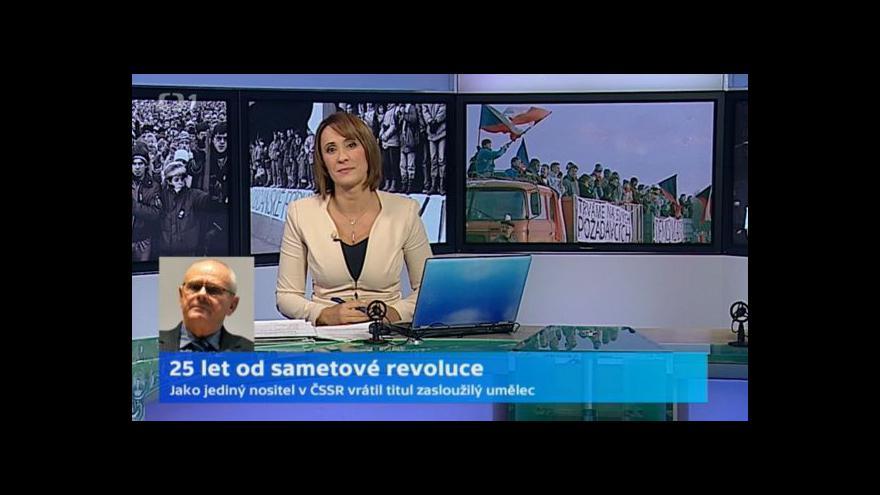 Video Milan Kňažko: Znal jsem rizika