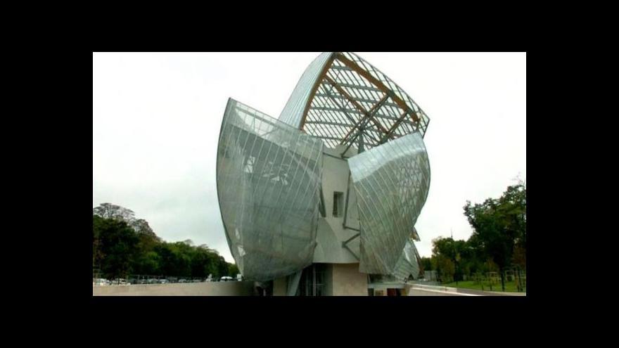 Video Frank Gehry navrhl nové muzeum v Paříži