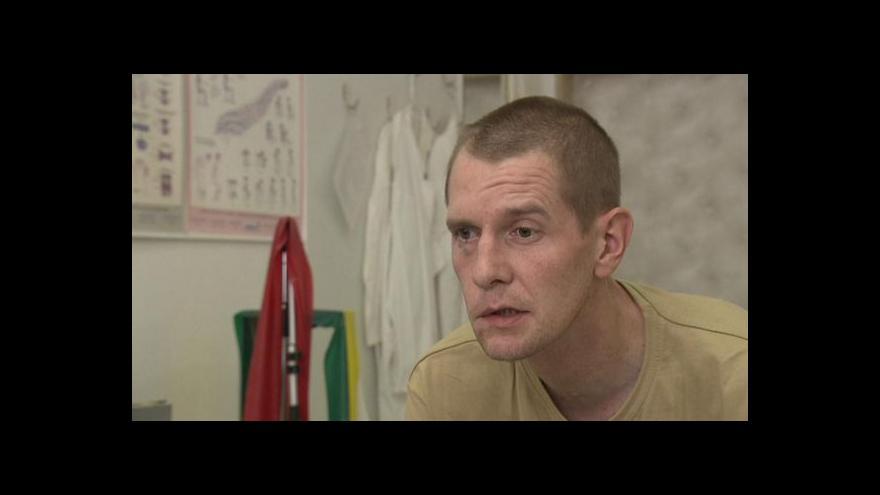 Video Zraněný voják věří, že bude brzy v pořádku
