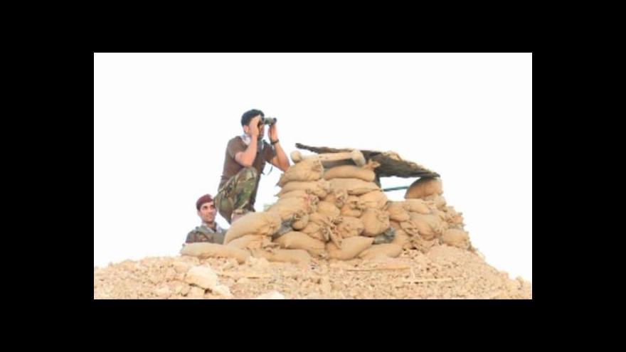 Video Kurdové vytvářejí nárazníkovou zónu proti islamistům