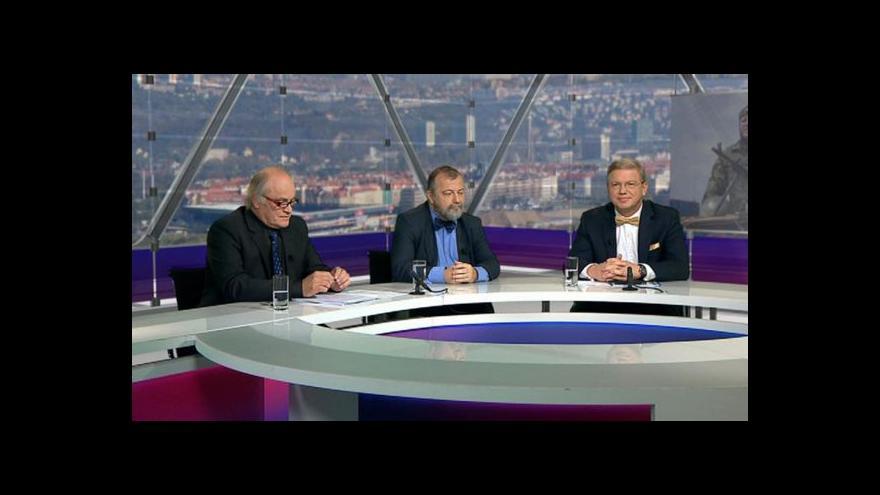 Video Otázky Václava Moravce k situaci na Ukrajině