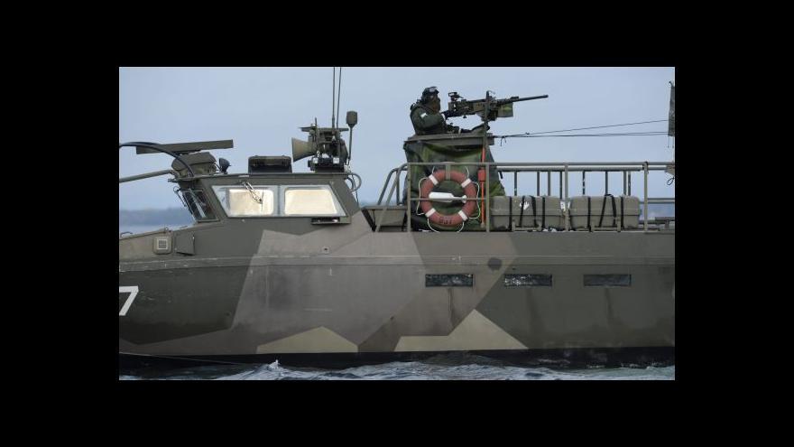 Video Švédové zachytili podezřelé signály, možná od ruských ponorek
