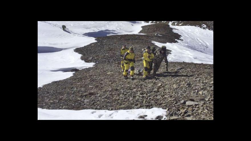 Video Záchranná operace v Nepálu finišuje