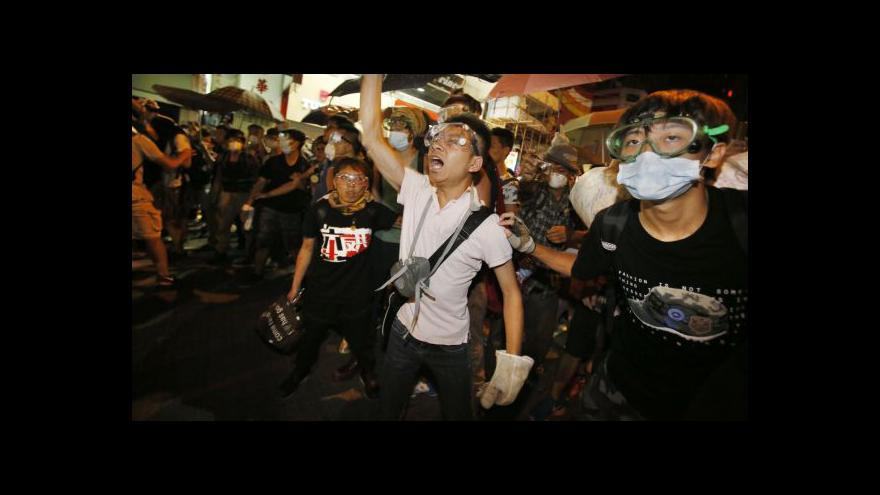 Video Rozhovory se blíží, v Hongkongu to ale dál vře