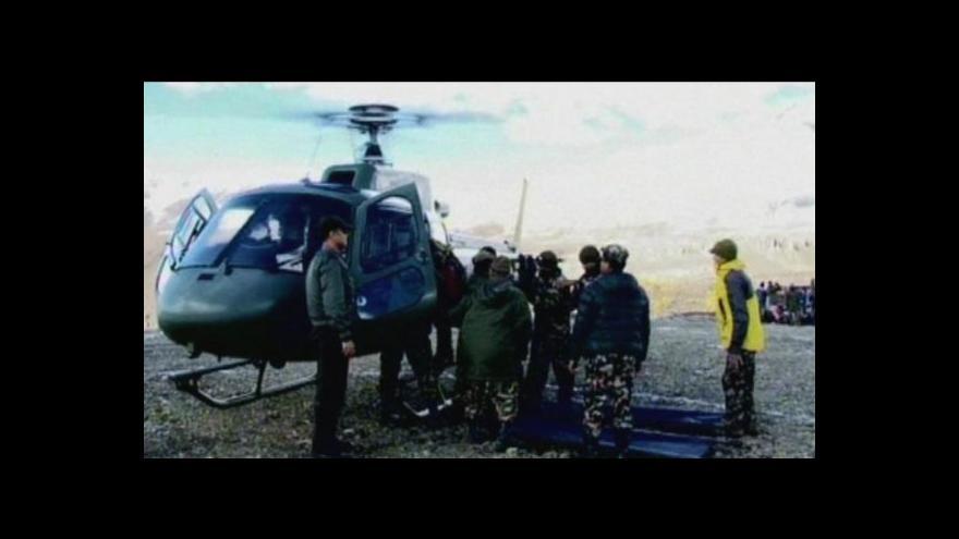 Video Sedmičlenná výprava, která uvízla na Annapurně, je v bezpečí