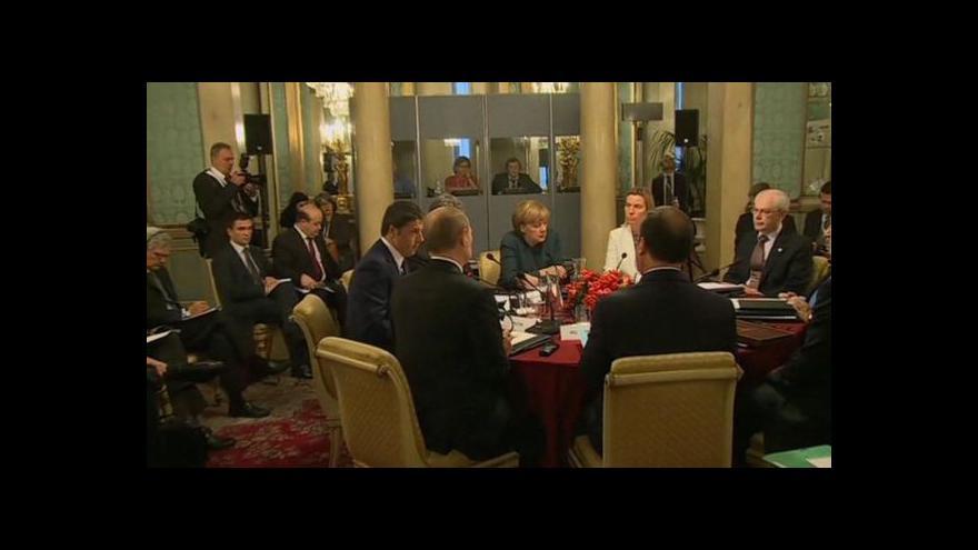 Video Horizont ČT24 k jednání v Miláně