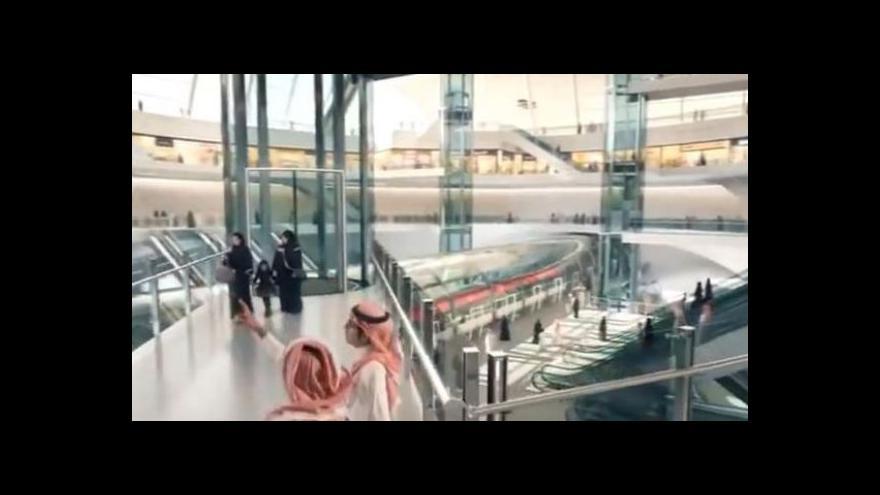 Video Ambiciózní projekt metra v Rijádu