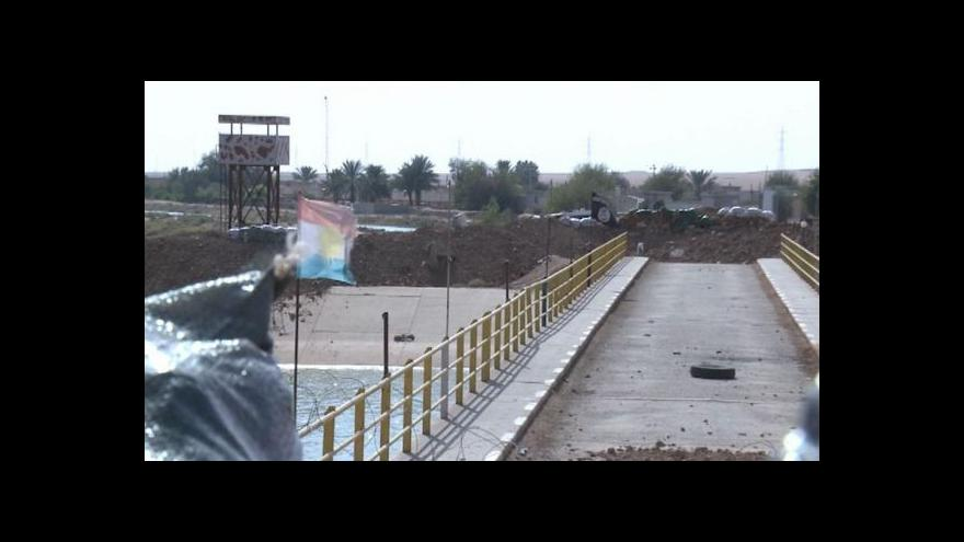 Video Islamisté se shromažďují k útoku na Kirkúk