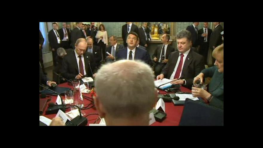 Video Milánské jednání o Ukrajině nic převratného nepřineslo