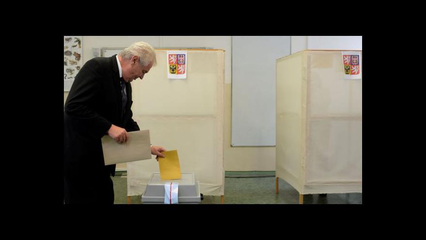 Video Finální kolo voleb - účast po prvním dnu je slabá