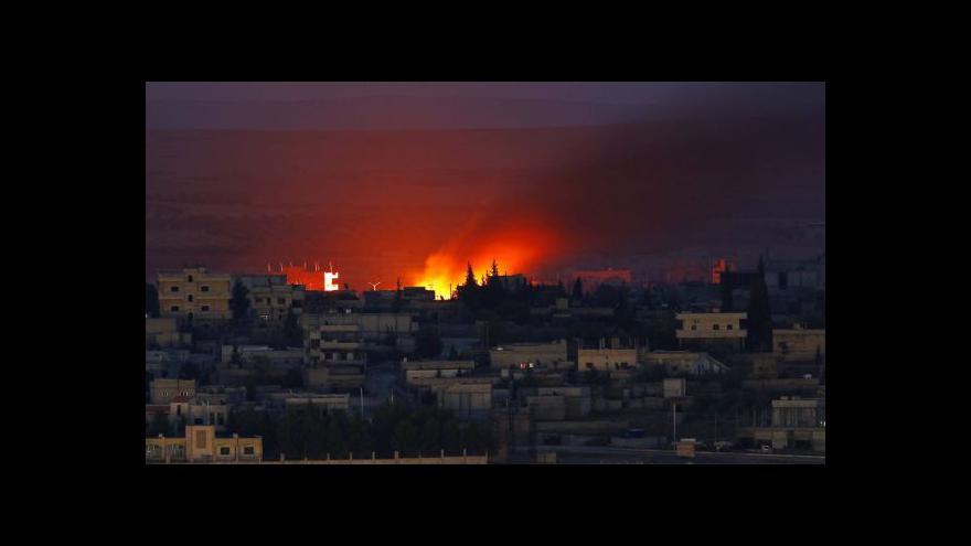 Video Zpravodaj ČT: Islámský stát drží už jen pětinu Kobani