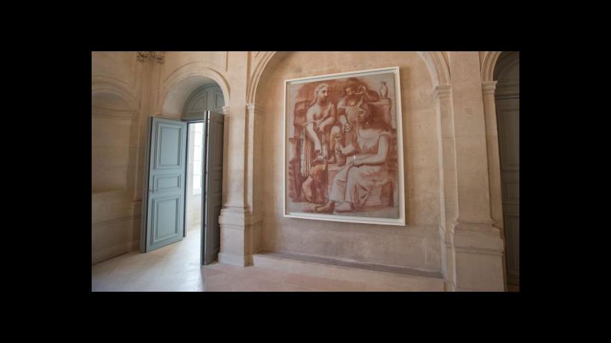 Video Picassovo muzeum v Paříži po pěti letech opět otevírá