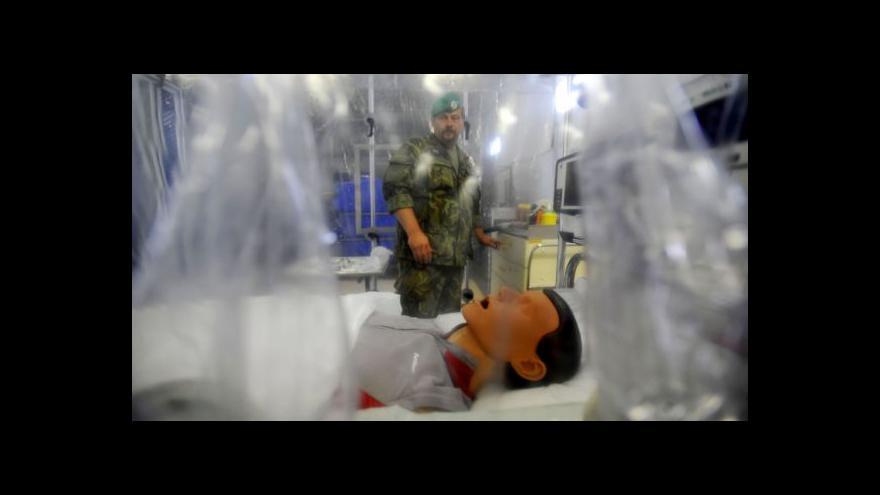 Video Reportáž: Česko spouští opatření proti ebole