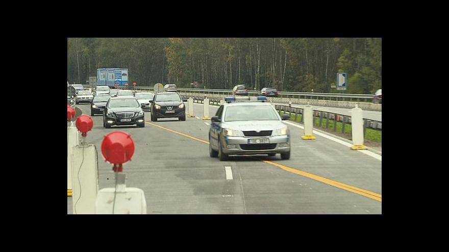 Video U Psář se auta rozjela po modernizované dálnici