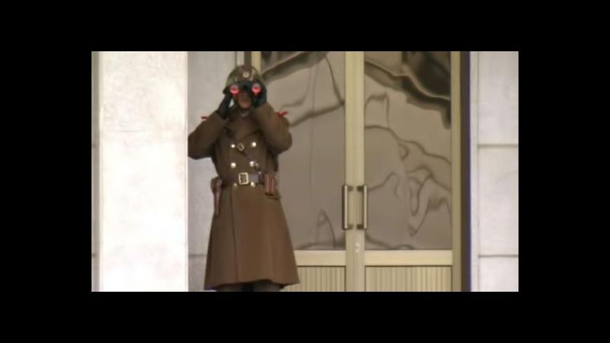 Video Chlada k vojenským jednáním mezi Korejemi