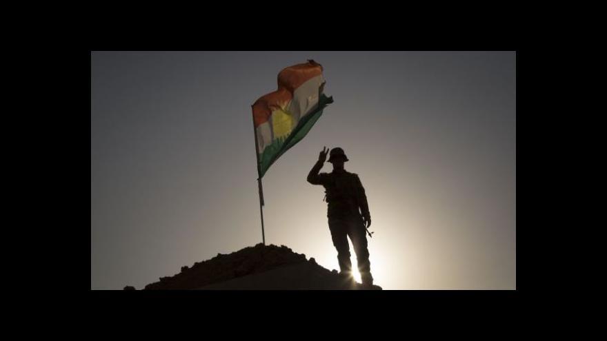 Video Zpravodaj ČT: Irácký Kirkúk čeká na ofenzivu IS