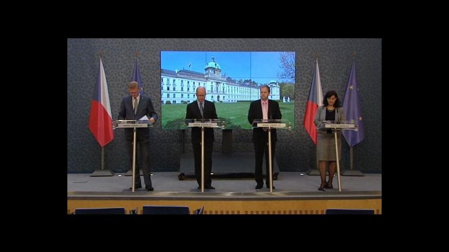 Video Vláda k tragédii ve Žďáru nad Sázavou