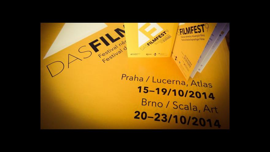 Video Pozvánka dramaturga Tomáše Fridricha na Das Filmfest